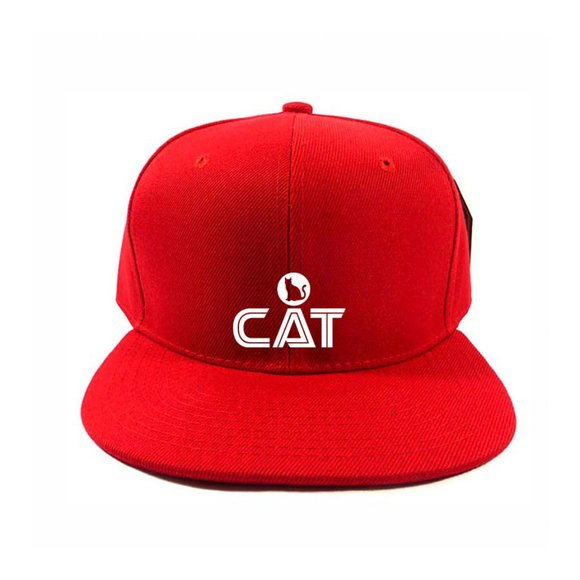CAT Hat Cap One Size Adjustable Snapback